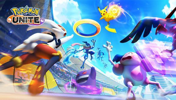 Pokémon Unite es el nuevo videojuego de Nintendo y The Pokémon Company. (Imagen: Pokémon Unite)