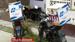 Repartidor motorizado fue herido de bala tras resistirse al robo de sus pertenencias