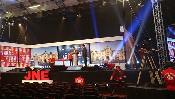 Los debates presidenciales del JNE se realizarán el lunes 29, martes 30 y miércoles 31 de marzo de 2021 | Foto: JNE