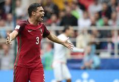 Pepe marcó el empate de Portugal ante México en el minuto 91