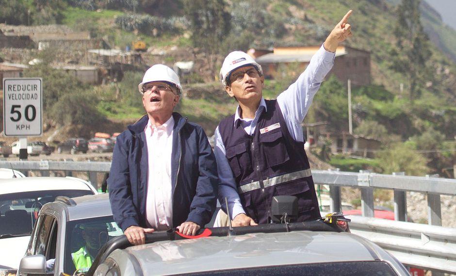A lo largo del 2017 se generó una crisis política que terminó con la renuncia de PPK en marzo de este año. Martín Vizcarra ha asumido el cargo y asegura que priorizará la reactivación económica. (Archivo El Comercio)
