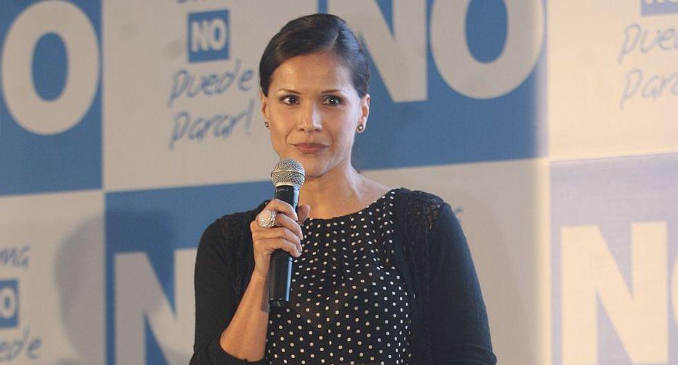 Mónica Sánchez fue una de las activistas que se sumó a la campaña del No a la revocatoria de Susana Villarán. (Foto referencial: Archivo El Comercio)
