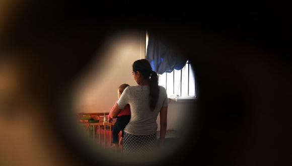 """""""La detención de niños es inaceptable bajo cualquier circunstancia y puede tener un impacto enorme en la salud mental"""", declaró el director general de Unicef en Bélgica. (Foto: AFP)"""