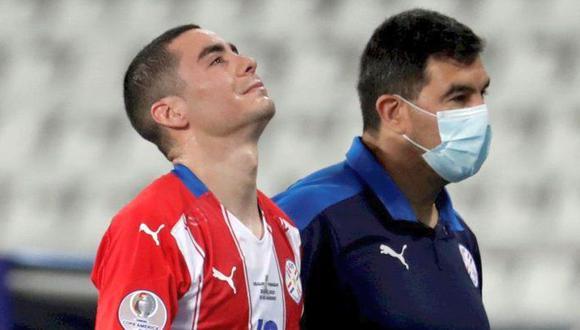 Miguel Almiron presentó un edema muscular en la cara posterior del muslo izquierdo. . (Foto: Agencias)