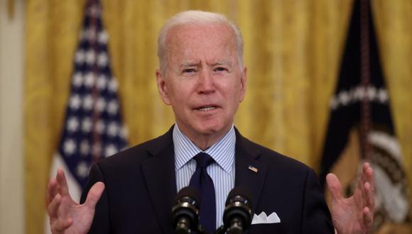 El presidente de Estados Unidos, Joe Biden, pronuncia comentarios sobre el informe de empleos de abril desde el Salón Este de la Casa Blanca en Washington, Estados Unidos. (Foto: REUTERS / Jonathan Ernst / archivo).