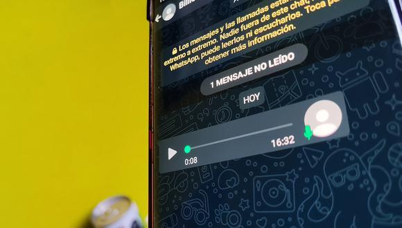 De esta forma podrás escuchar mejor tus audios de WhatsApp. (MAG)