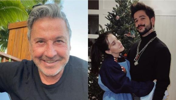 """Ricardo Montaner recibe sorpresa de Evaluna y Camilo en medio de lanzamiento de su álbum """"FE"""". (Foto: Instagram)."""