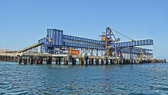 El 7,5% del cobre mundial saldrá por el puerto de Matarani