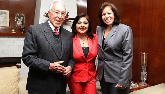 Ana Jara se reunió con Luis Bedoya y Lourdes Flores