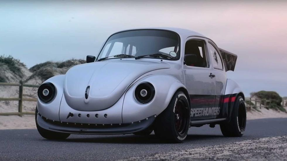 El Volkswagen Escarabajo fue dotado con un propulsor bóxer EJ20 utilizado por el Subaru Impreza. (Foto: YouTube).