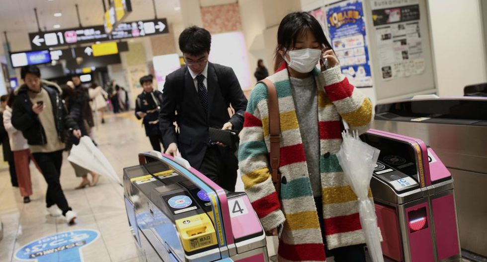 La economía japonesa también se verá afectada por el coronavirus. (Foto: AFP)