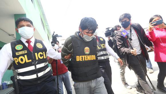 Edecio Hilario Baldeón fue detenido el último lunes en Canta. (Foto: Gonzalo Córdova/@photo.gec)