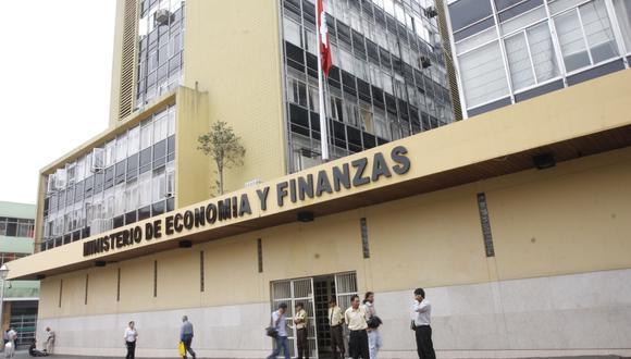 El Ministerio de Economía y Finanzas (MEF). (Foto: GEC)