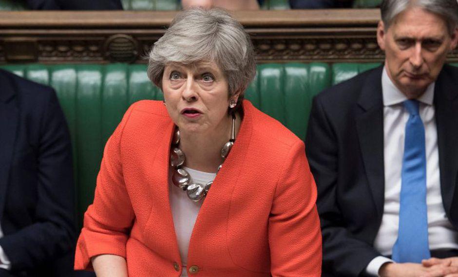 EN VIVO | Parlamento británico rechaza por segunda vez acuerdo de Brexit de Theresa May. (AFP)
