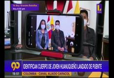 Huánuco: reconocen cuerpo de joven que fue lanzado de un puente en Colombia por tatuaje en el tobillo  | VIDEO