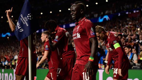 ¡Liverpool campeón de la Champions League! Ganaron 2-0 a Tottenham en el Wanda Metropolitano | VIDEO. (Foto: AFP)