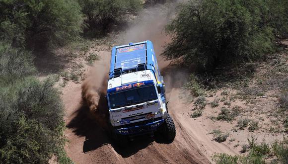 Dakar 2018: Kamaz y su poderío en el rally más difícil del mundo. (Foto: AFP)