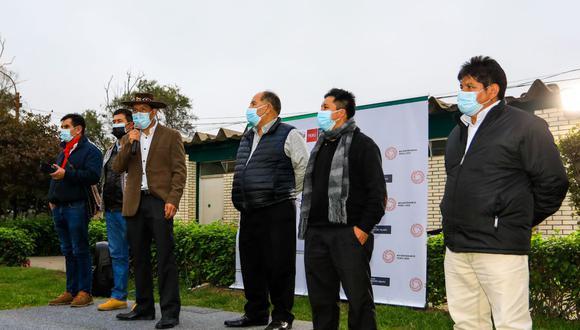 El nuevo titular del Ministerio de Desarrollo Agrario ya inició actividades. (Foto: GEC)