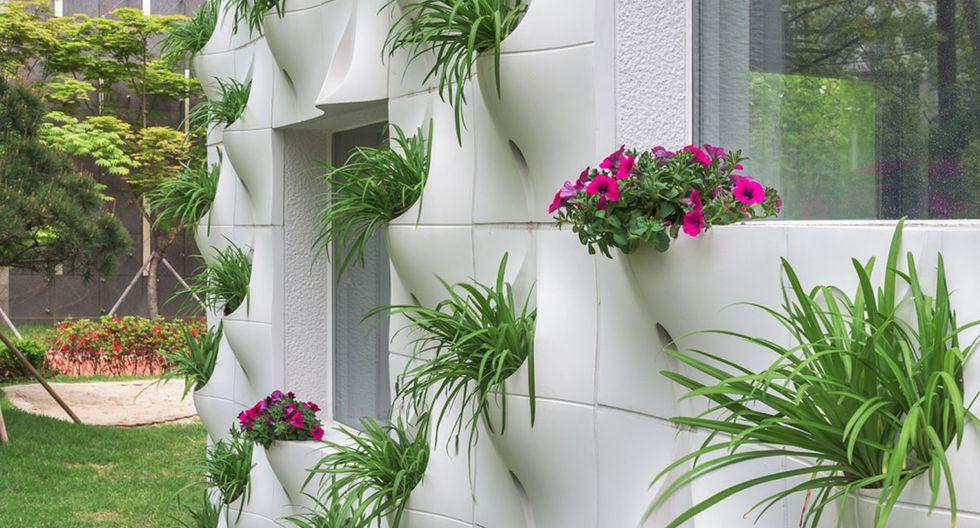 ¿Necesitas áreas verdes? Ahora pueden colgar de tus fachadas - 6