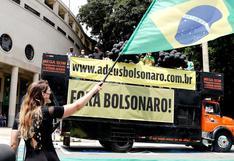 Grupos de derecha también piden destitución de Bolsonaro en las calles