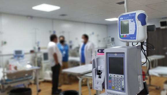 Essalud habilita 12 camas UCI en Villa Cerro Juli de Arequipa para atender pacientes críticos de COVID-19. (Foto: Essalud)