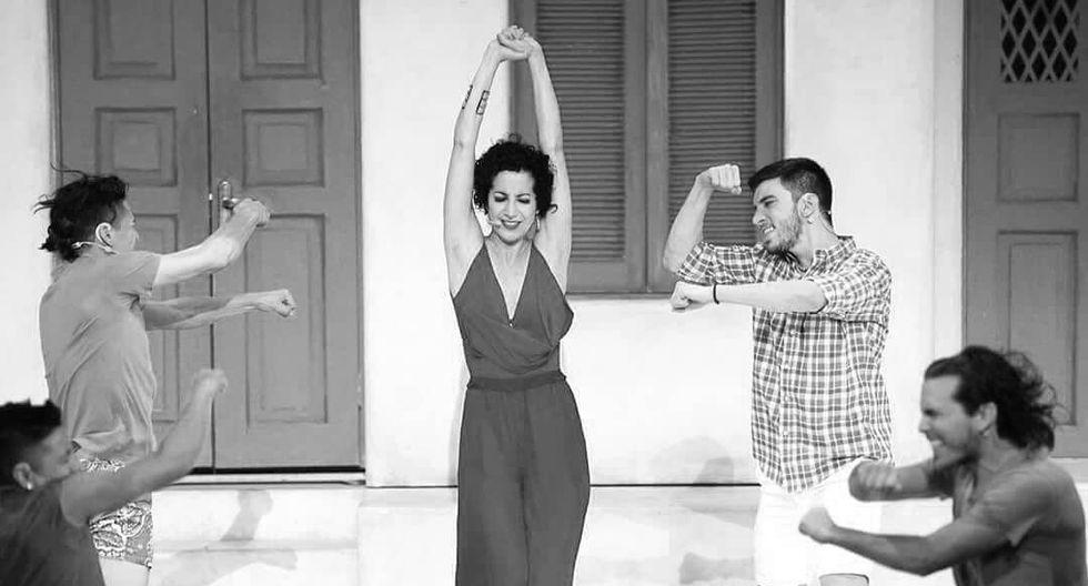 """Sofïa Rocha cuando fue parte de la obra """"Mamma Mia!"""" de 2018."""