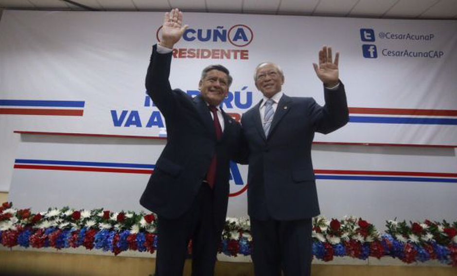 César Acuña negó uso de recursos de la César Vallejo en campaña