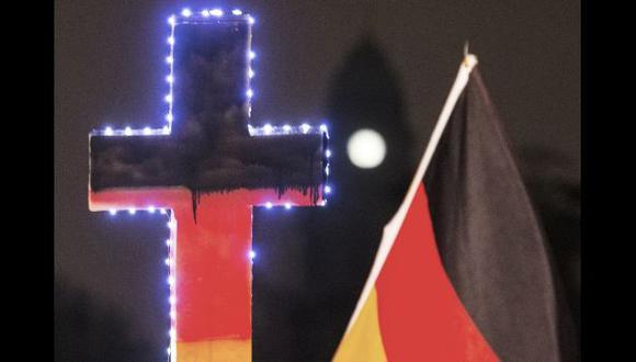 Pegida, el movimiento anti-islam que tomó calles de Alemania