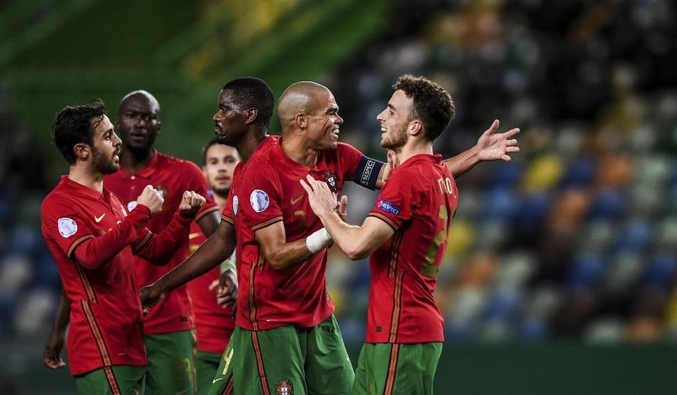 Portugal vs. Suecia: las imágenes del partido por la Liga de Naciones, en el que el gran ausente fue Cristiano Ronaldo. (Foto: AFP)