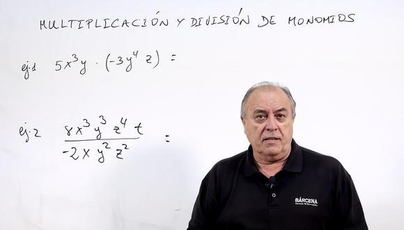 El profesor Carlos Maxi Bárcena se ha pasado a TikTok para enseñar matemáticas. (@aprende.mates)