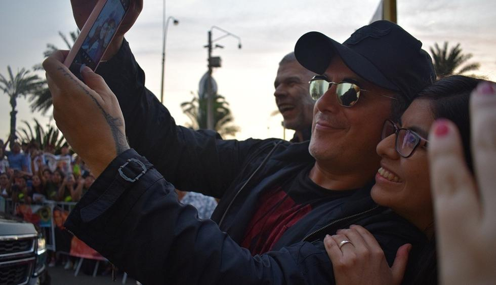 Alejandro Sanz llegó a Perú y tuvo emotivo encuentro con sus fans (Foto: Instagram/Difusión)
