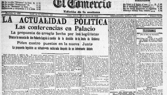 1916: Andrés A. Aramburú