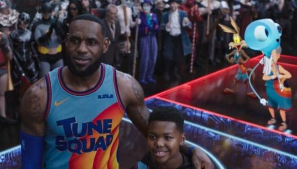 La cinta está protagonizada por LeBron James (Foto: Warner Bros. Pictures)