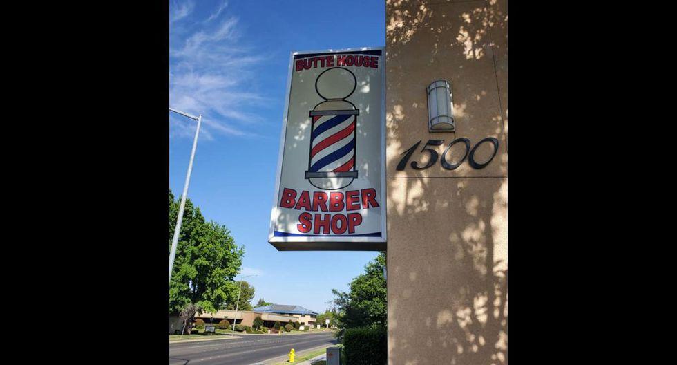 La fachada del local donde se dio el corte de cabello. (Foto: Facebook)