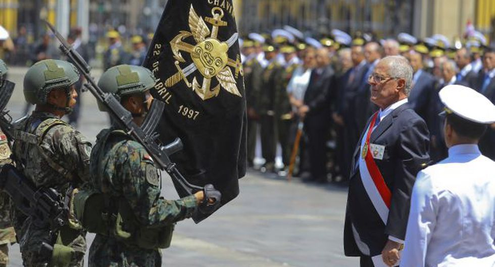 PPK firmó ley que declara héroes a comandos Chavín de Huántar