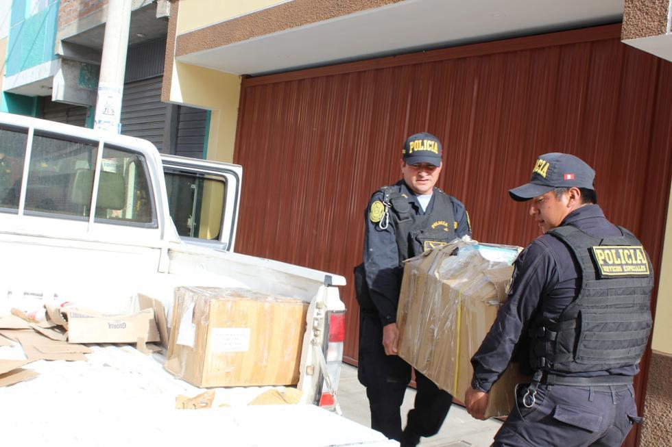 Junín: incautan documentos y una laptop de vivienda de gobernador regional   FOTOS