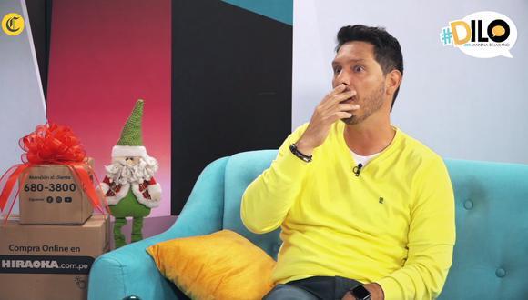 Cristian Rivero se confiesa en #Dilo