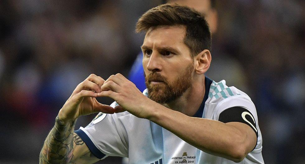Messi, que estaba llamado una vez más a ser el gran actor de Argentina, ha anotado de momento un único gol y de penalti. (Foto: AFP)