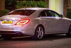 La rusa que decoró su Mercedes Benz con un millón de cristales