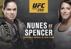 UFC 250: día, horarios, canales y cartelera completa del evento en Las Vegas