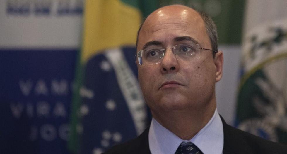 El gobernador de Río de Janeiro, Wilson Witzel, anunció que dio positivo al test del nuevo coronavirus.  (AFP/MAURO PIMENTEL).