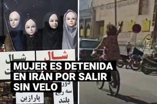 Irán: mujer es arrestada por salir en bicicleta sin su velo