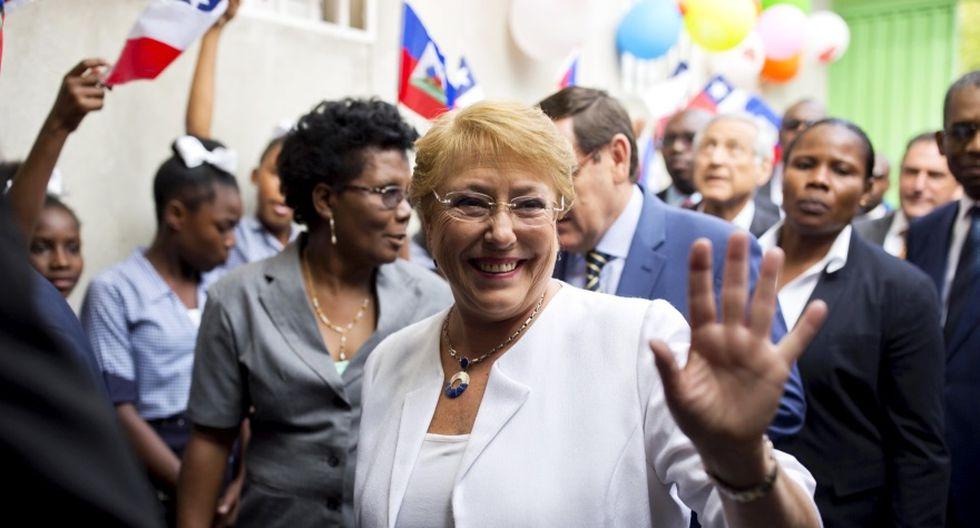 Bachelet visita Haití y aborda la crisis migratoria [FOTOS] - 7
