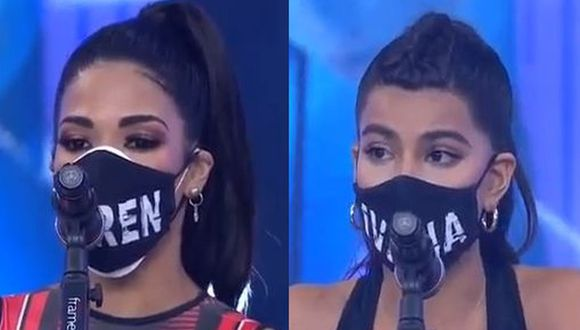 "Karen Dejo e Ivana Yturbe fueron suspendidas de ""Esto es guerra"" hasta el miércoles. (Foto: Captura de video)"