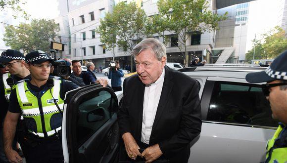 Las acusaciones históricas contra Pell abarcan el período de labor religiosa en Australia del prelado, iniciado en 1966. (EFE)