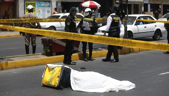 El sangriento hecho ocurrió en el distrito de San Martín de Porres (Foto: Diana Marcelo / @photo.gec)