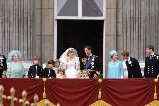Prince Charles and Lady Diana Spencer were married at St.  Paul on July 29, 1981 (Photo: Vanity Fair)
