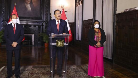 """""""Mientras tanto, los peruanos seguimos aguardando soluciones"""", dice Pedro Tenorio. (Foto: ANDINA/Prensa Presidencia)"""