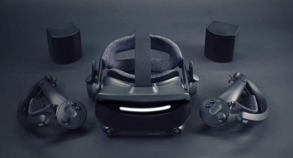 Valve Index es el casco de realidad virtual de Valve. (Foto: Valve)