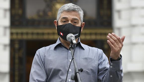 José Elice considera que el presidente no puede depender de mociones de censura del Congreso. (Foto: Ministerio del Interior)